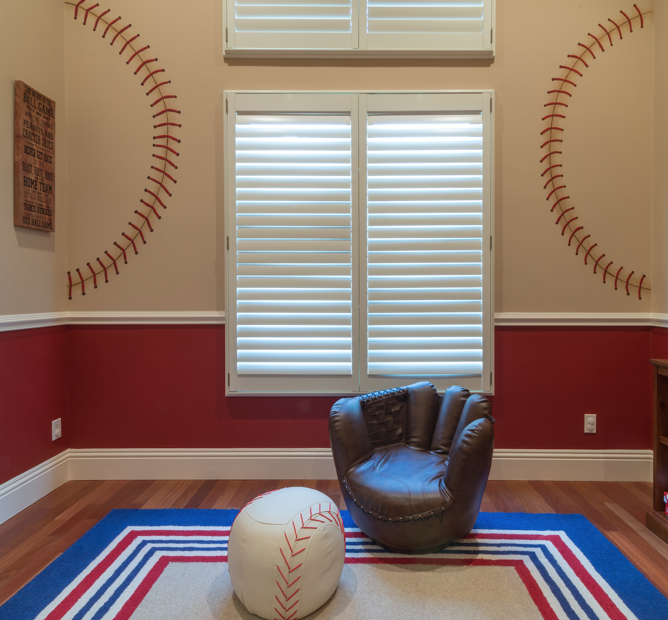 Baseball Kids Room Interior Design